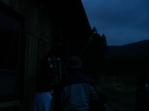 こんな暗くなるまで