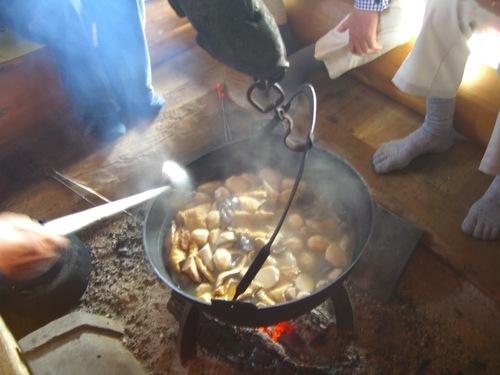 芋煮のこだわり